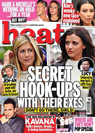 Dr Dray in the press - Interview for Heat magazine - Aesthetic medicine