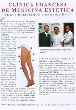 Dr Dray in the press in Spain - Aesthetic doctor