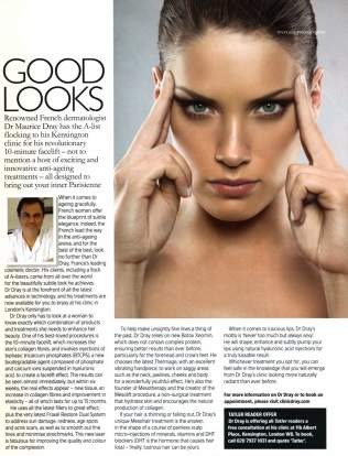 Dr Dray about his 10 minute face-lift - Cosmetic medicine in London